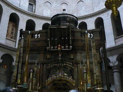Anastasis o tumba de Cristo