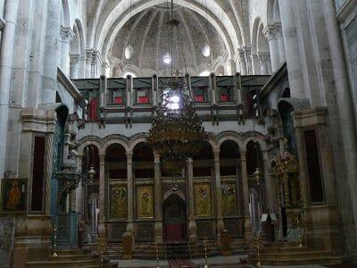 la Rotonda, que contiene la capilla Resurrección
