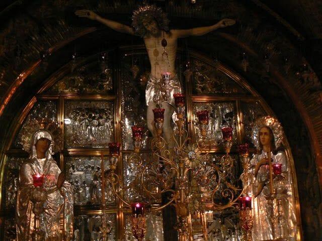 Gólgota del Santo Sepulcro de Jerusalén