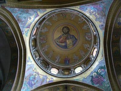 cúpula de la iglesia del Santo Sepulcro de Jerusalén