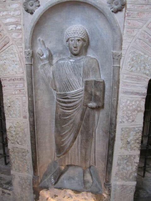 el apóstol de San Sernin de Toulouse