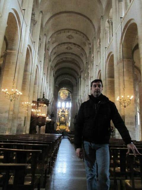 nave principal San Sernin de Toulouse