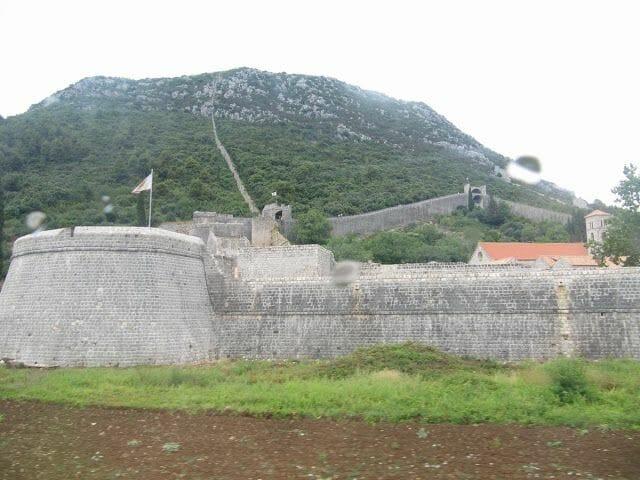 muralla china croata