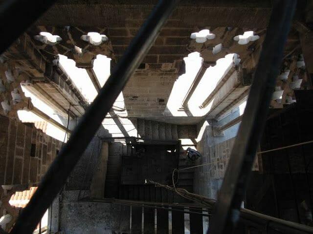 interior campanario de la catedral de Trogir