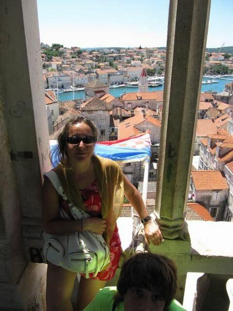 campanario de la catedral de Trogir