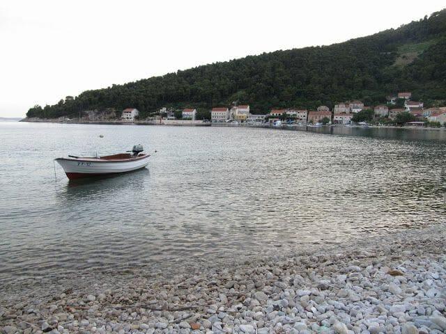 Trstenik, pueblo pescadores de Croacia