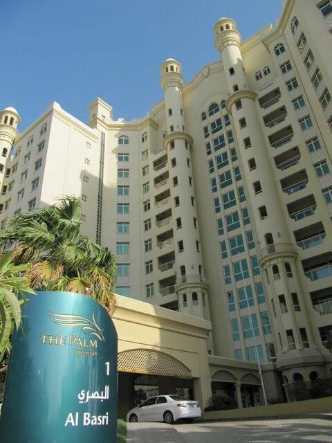 viaje a emiratos árabes apartamentos