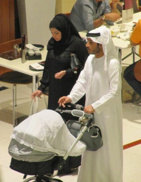 vestidos de viaje a emiratos árabes