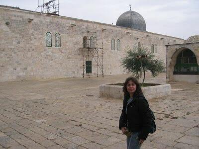 Mezquita de Al Aqsa - Explanada de las mezquitas en Jerusalén
