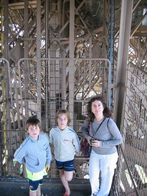 cómo subir a la Torre Eiffel