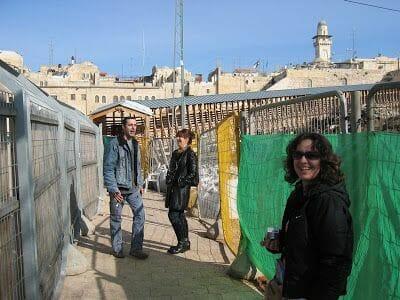 Acceso a la Cúpula de la Roca y Explanada de las mezquitas en Jerusalén