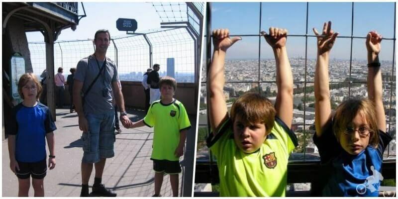 piso más alto de la torre Eiffel - Subir a la Torre Eiffel