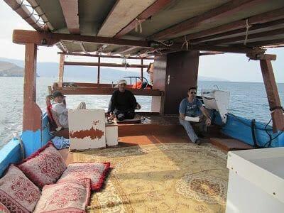 dhow, barco del golfo persico,oman