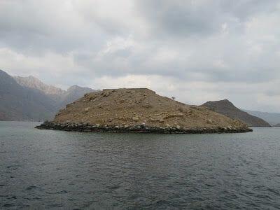 telegraph island Península de Musandam