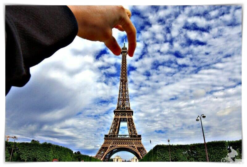 fotos curiosas de la Torre Eiffel