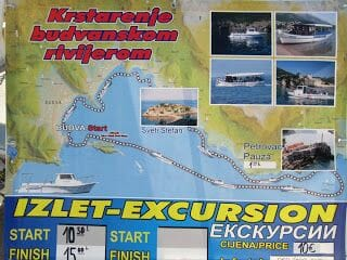 excursión Budva, Sveti Stefan, Petrovac y isla de Hawai.