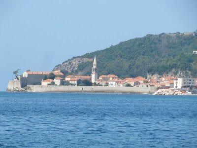 ciudad de Budva Montenegro