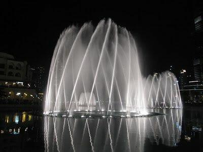 Fuente de Dubai la mas grande del mundo