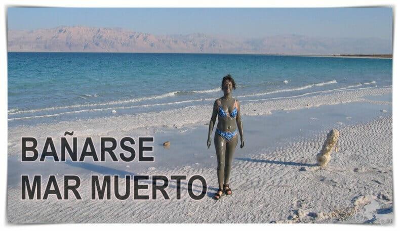 bañarse en el mar Muerto