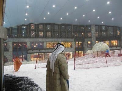 esqui Dubai