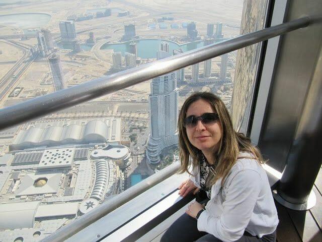 vistas at the top burj khalifa