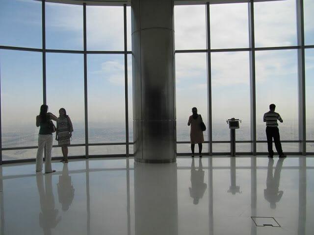 mirador cristal piso 124