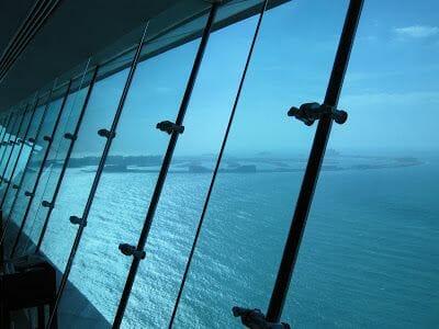 vidrieras restaurante del Burj al Arab