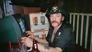 Lemmy en el Rainbow de Sunset Boulevard
