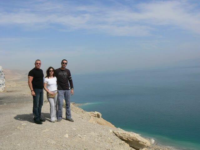 lago del mar muerto
