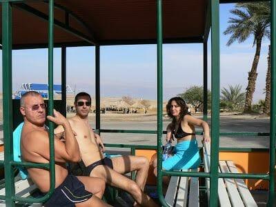 trenecito turistico de Ein Gedi