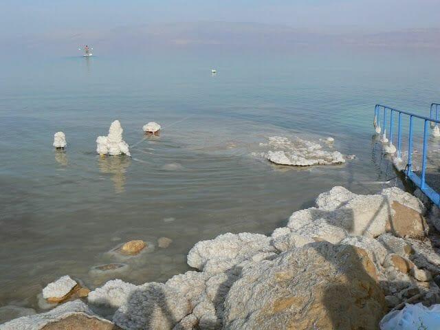 rocas de sal en Ein Gedi