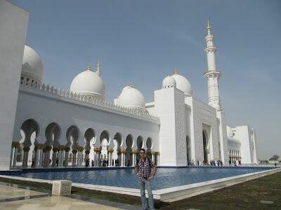 entrada Mezquita Sheikh Zayed Abu Dhabi