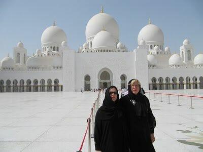 mujeres Mezquita Sheikh Zayed Abu Dhabi
