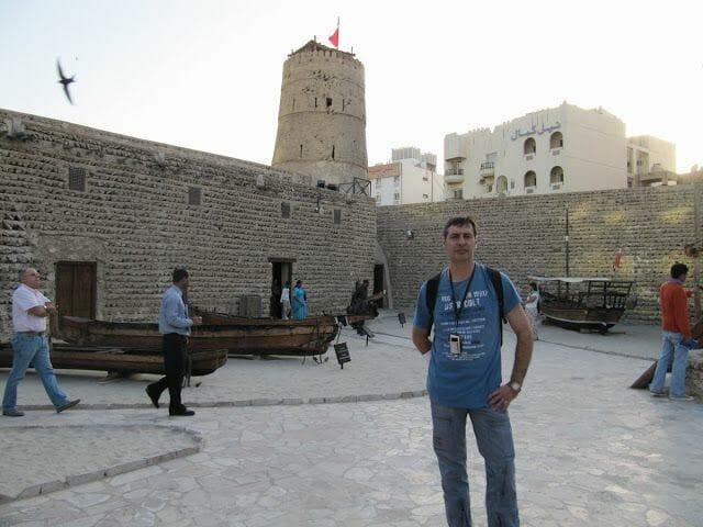 patio exterior museo de Dubai