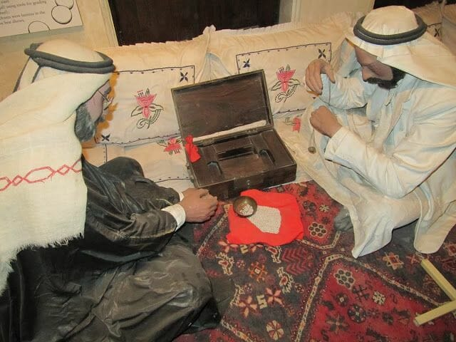 museo de Dubai muñecos