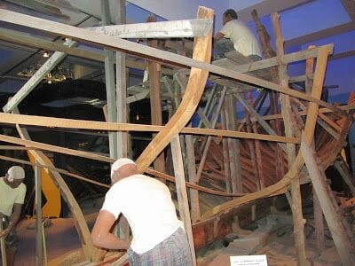museo de Dubai connstructores de dhows