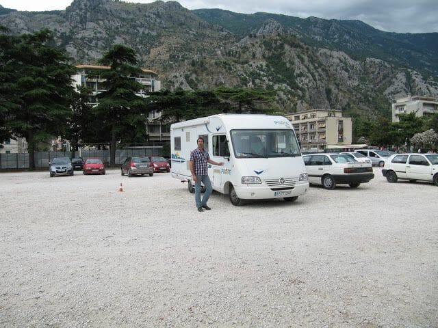 viajar a Montenegro en aurocaravana