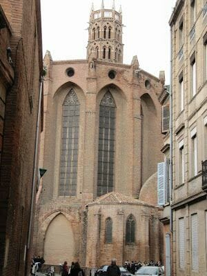 exterior convento jacobinos toulouse