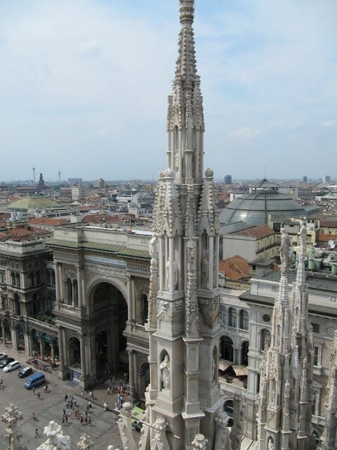 galleria Vittorio Emanuelle desde la catedral