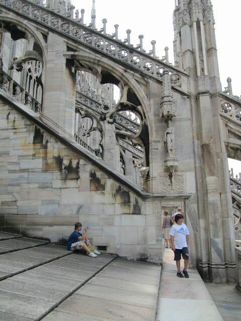arquivoltas catedral gótica