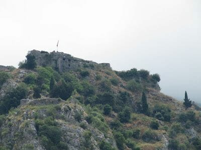 castillo de St John, Illyrian fort, fortaleza Kotor