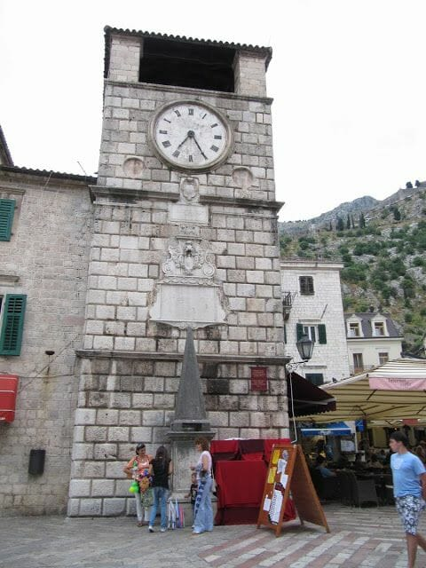 torre del Reloj de Kotor