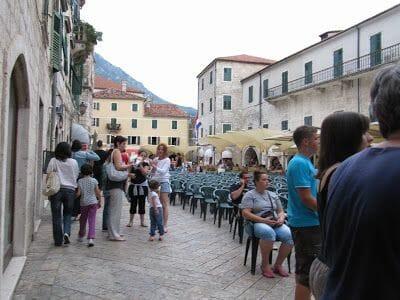 plaza Oruzja de Kotor