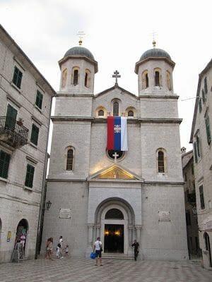 iglesia de San Nicolás de Kotor