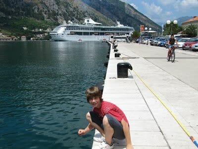 crucero en Kotor