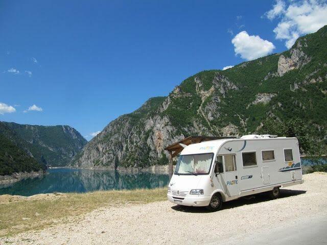 viaje a Montenegro en autocaravana