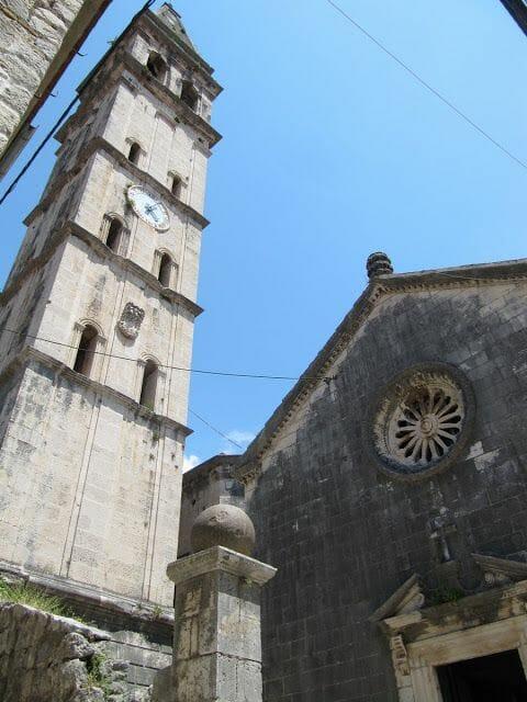 iglesia de San Jorge perast, barroco montenegro