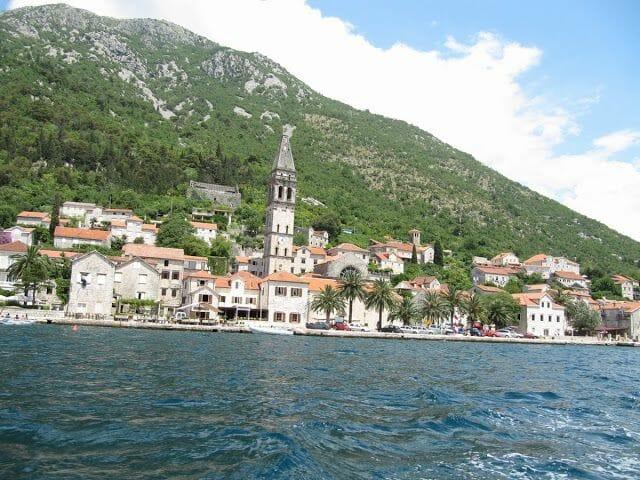 Perast en nuestro viaje a Montenegro