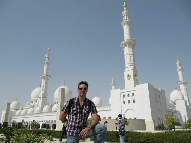 mezquita sheikh Zayed Abu Dhabi, mezquita mas cara, mezquita lujosa