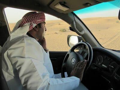 viaje a Dubai en 4x4